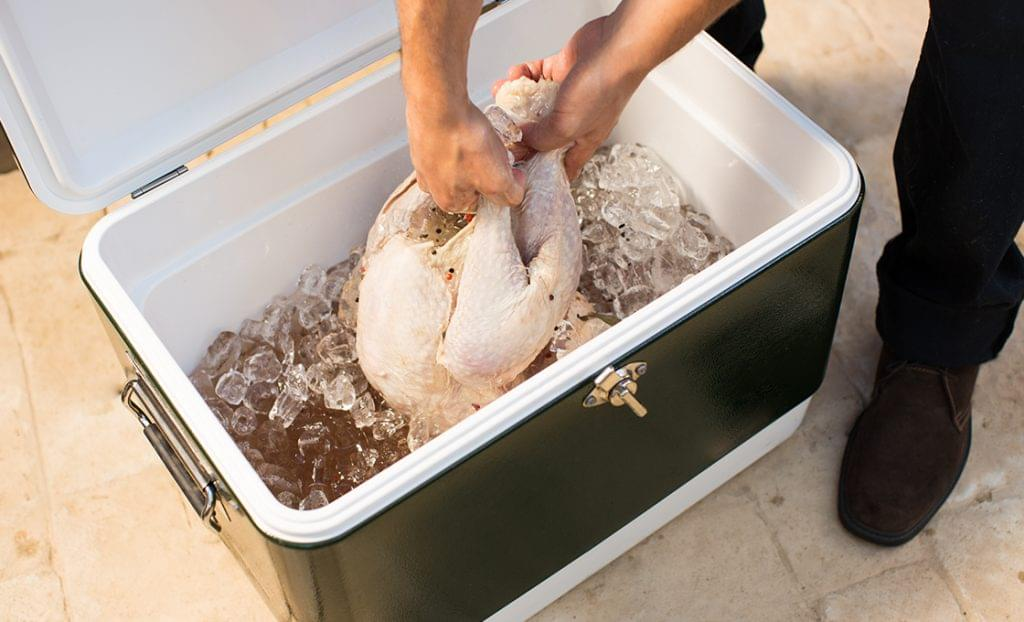 Brine your turkey